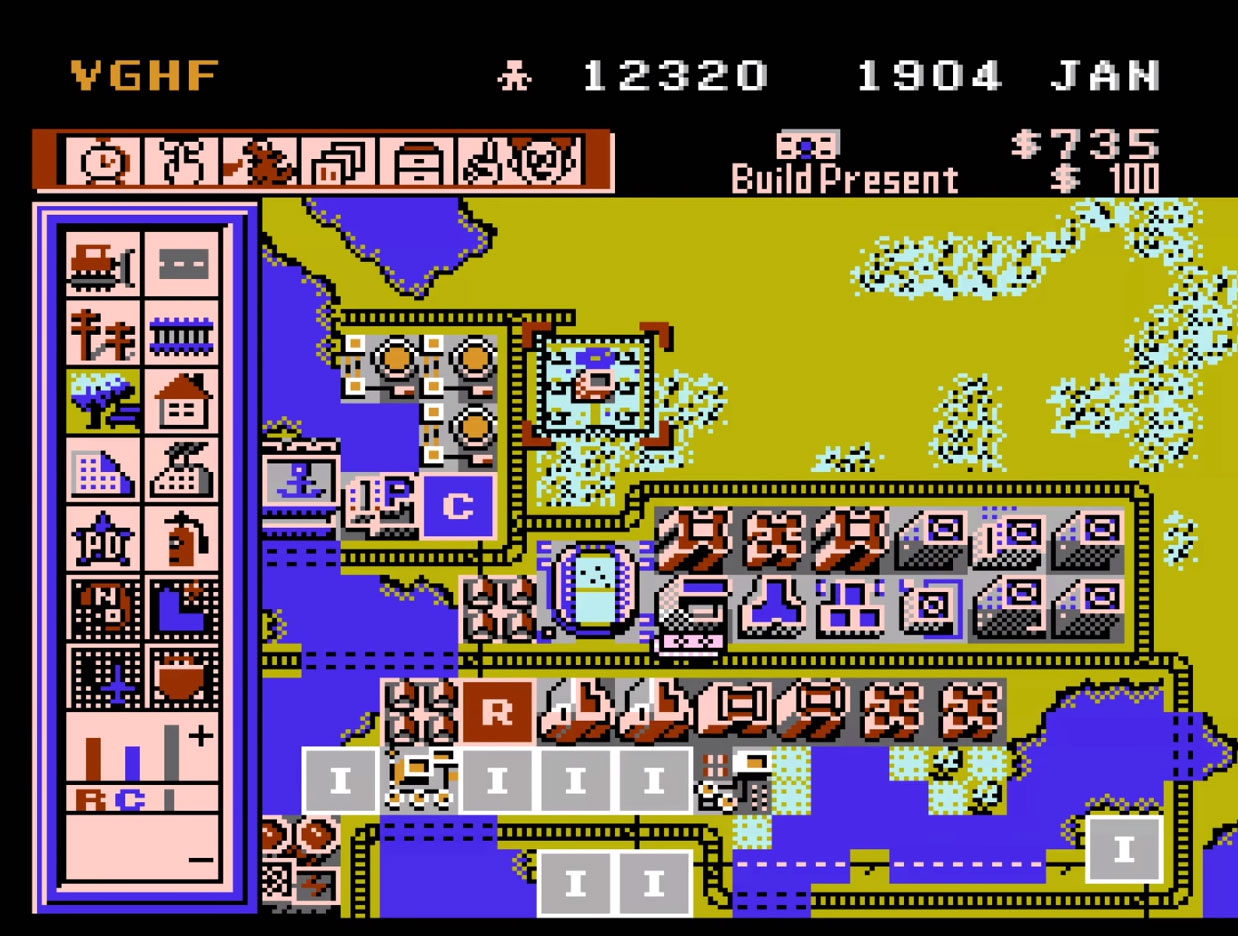 Long lost version of SimCity for the NES surfaces