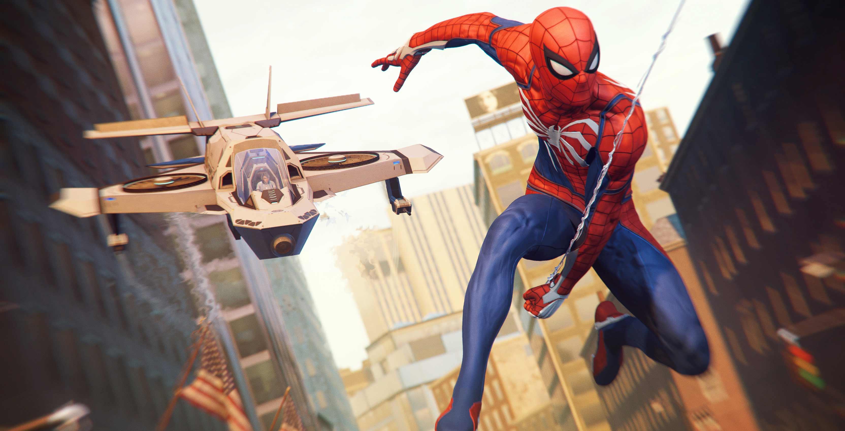 Spider-Man Silver Lining ship
