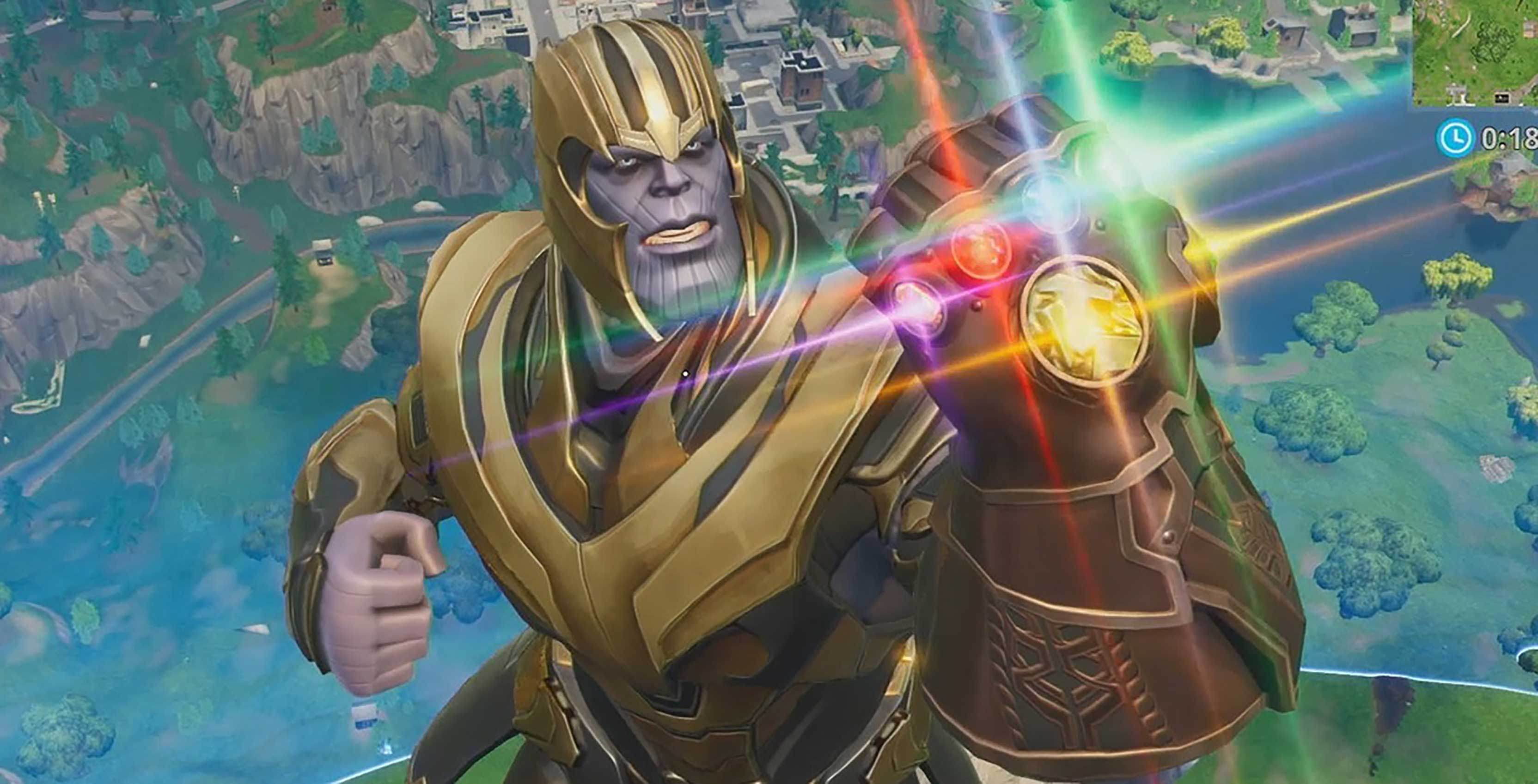 Fortnite's Avengers: Endgame event now live, brings back Thanos