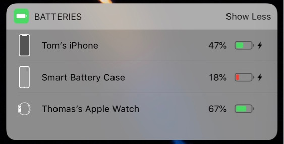 Reddit user discovers iPhone XS battery case charging icon