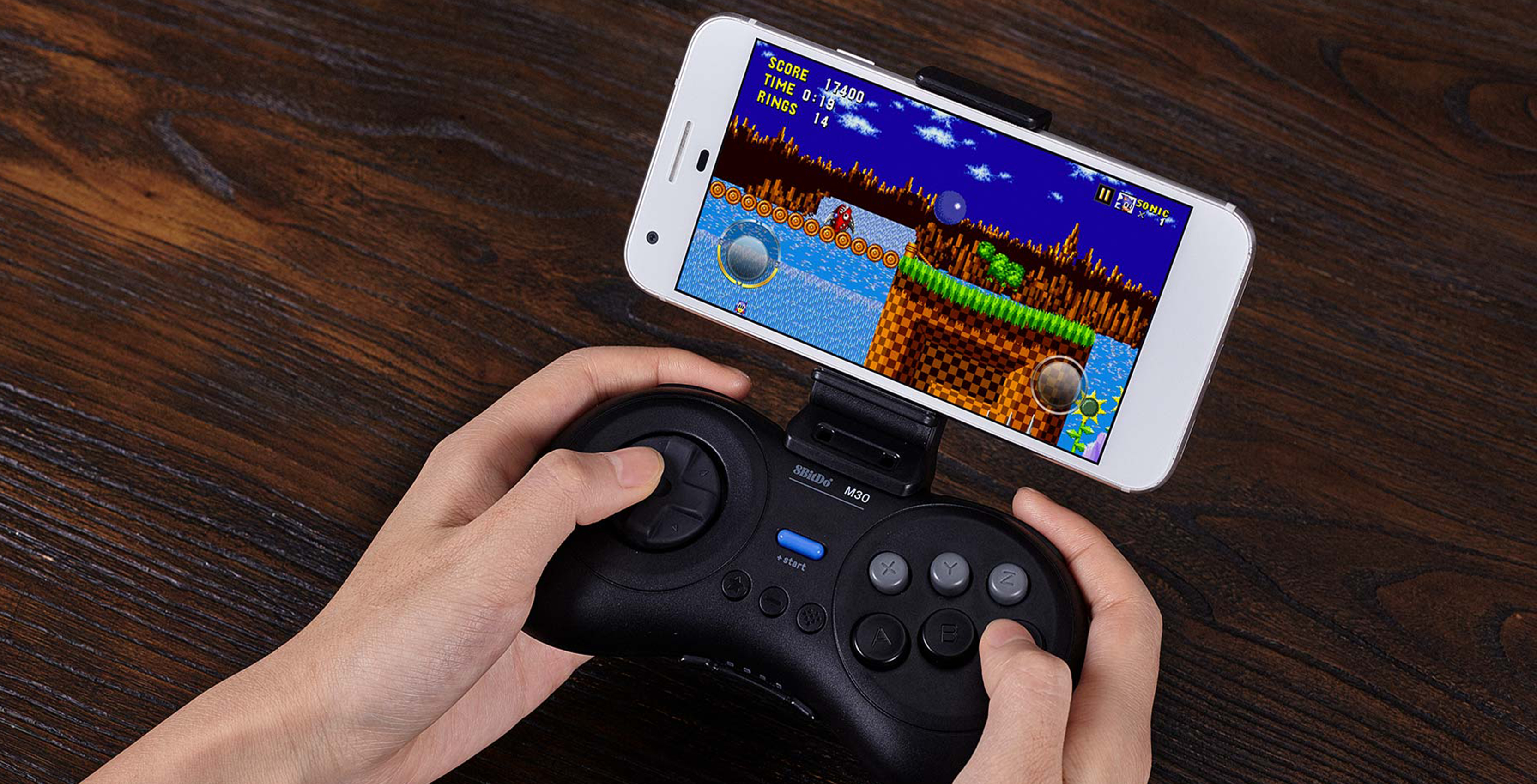 8BitDo's Genesis controller lets you play Classic Sonic the