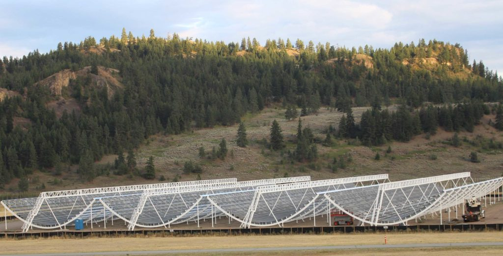 Canadian radio telescope is helping map out the expansion of the universe