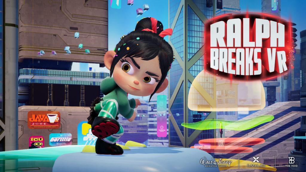 Ralph Breaks VR Vanellope