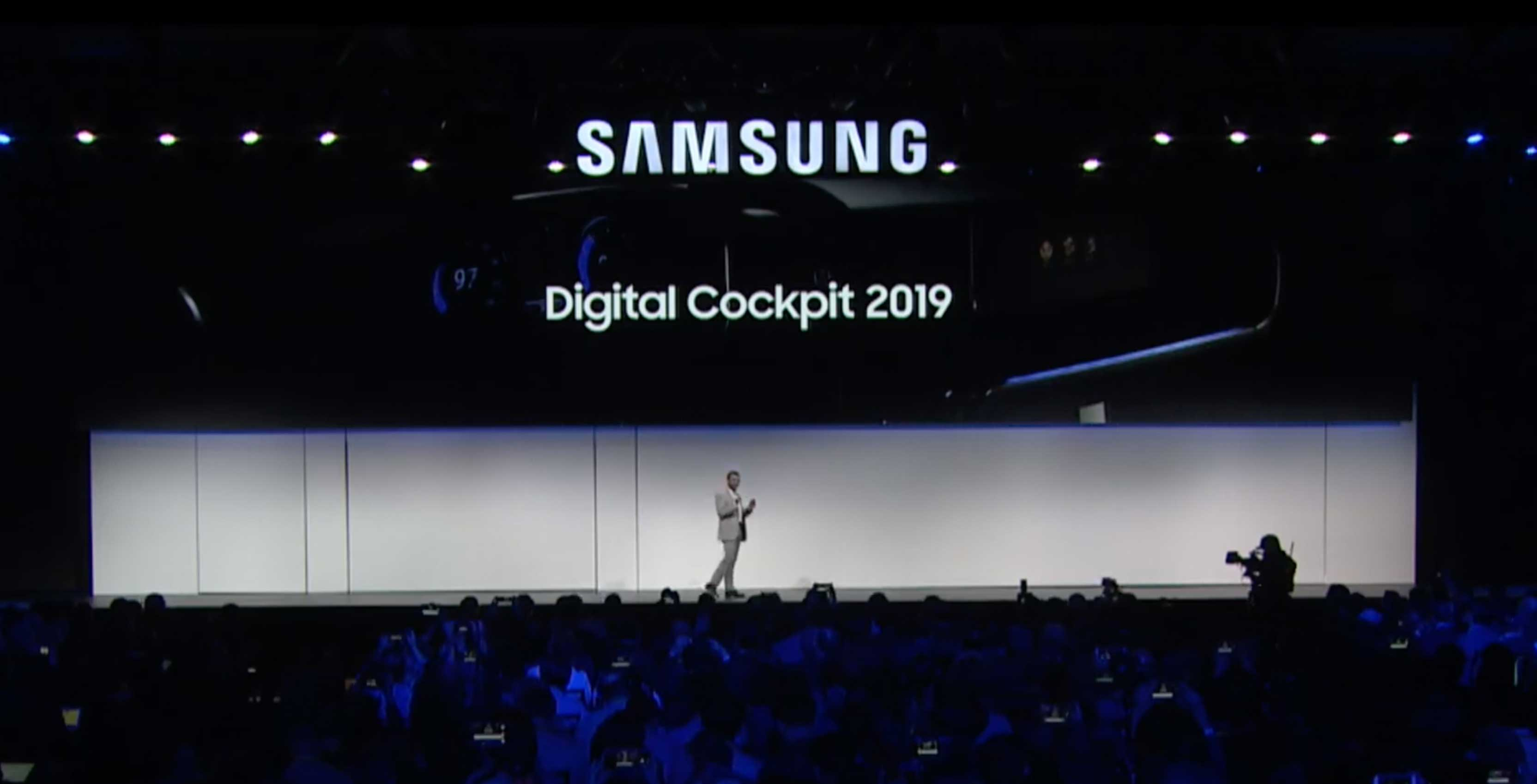 Samsung showcases its foldable phone to a limited audience at CES 2019