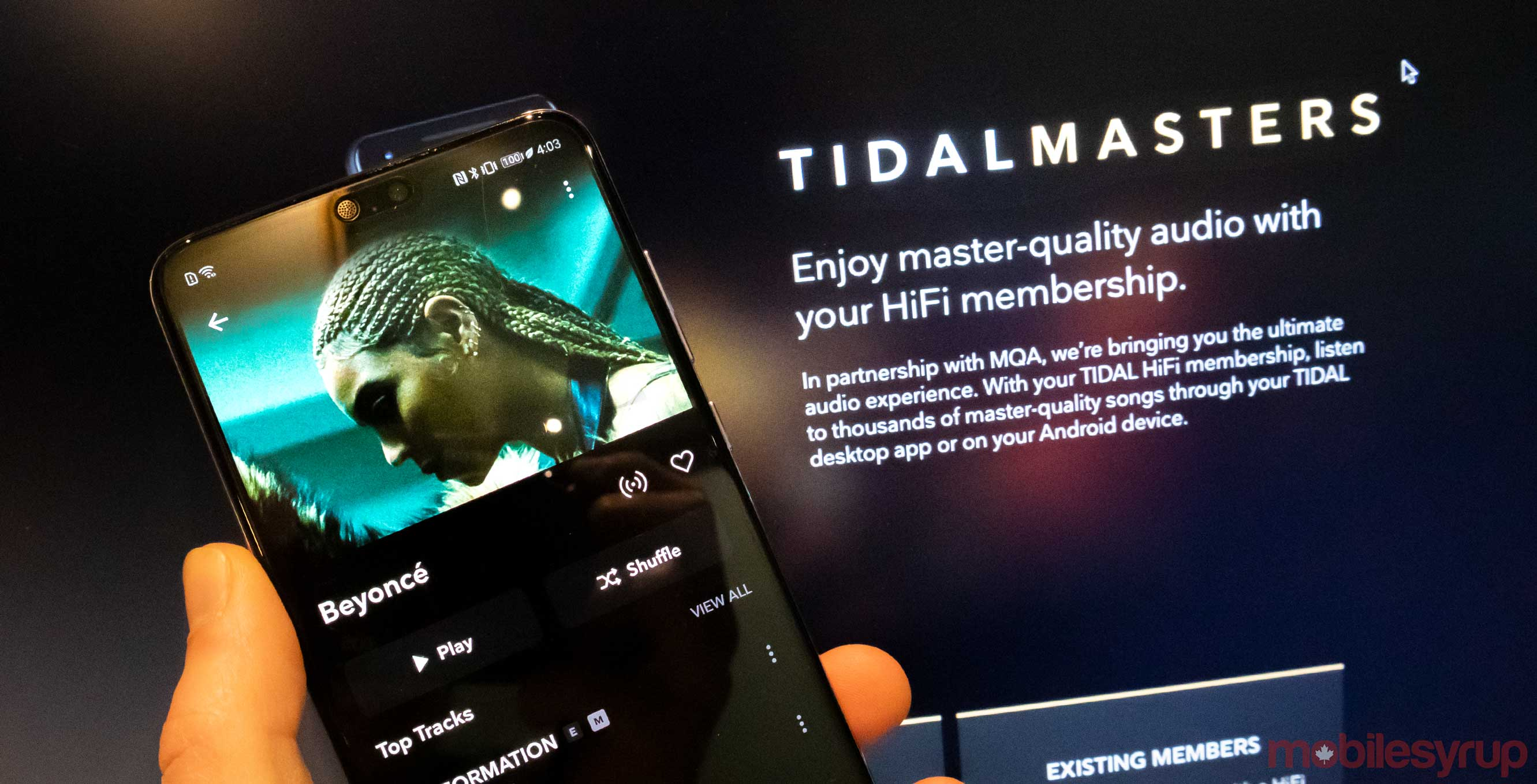 Tidal bring 'Master' MQA audio quality to its Android app
