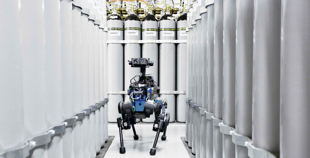 These scientists are training dog-like robots to resist human attacks