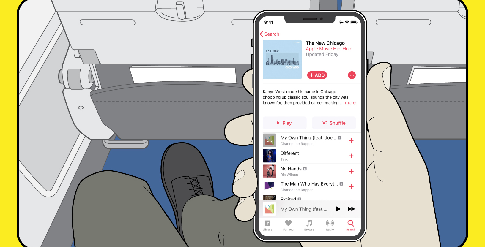 Apple Music subscribers can now stream music on United States  flights for free