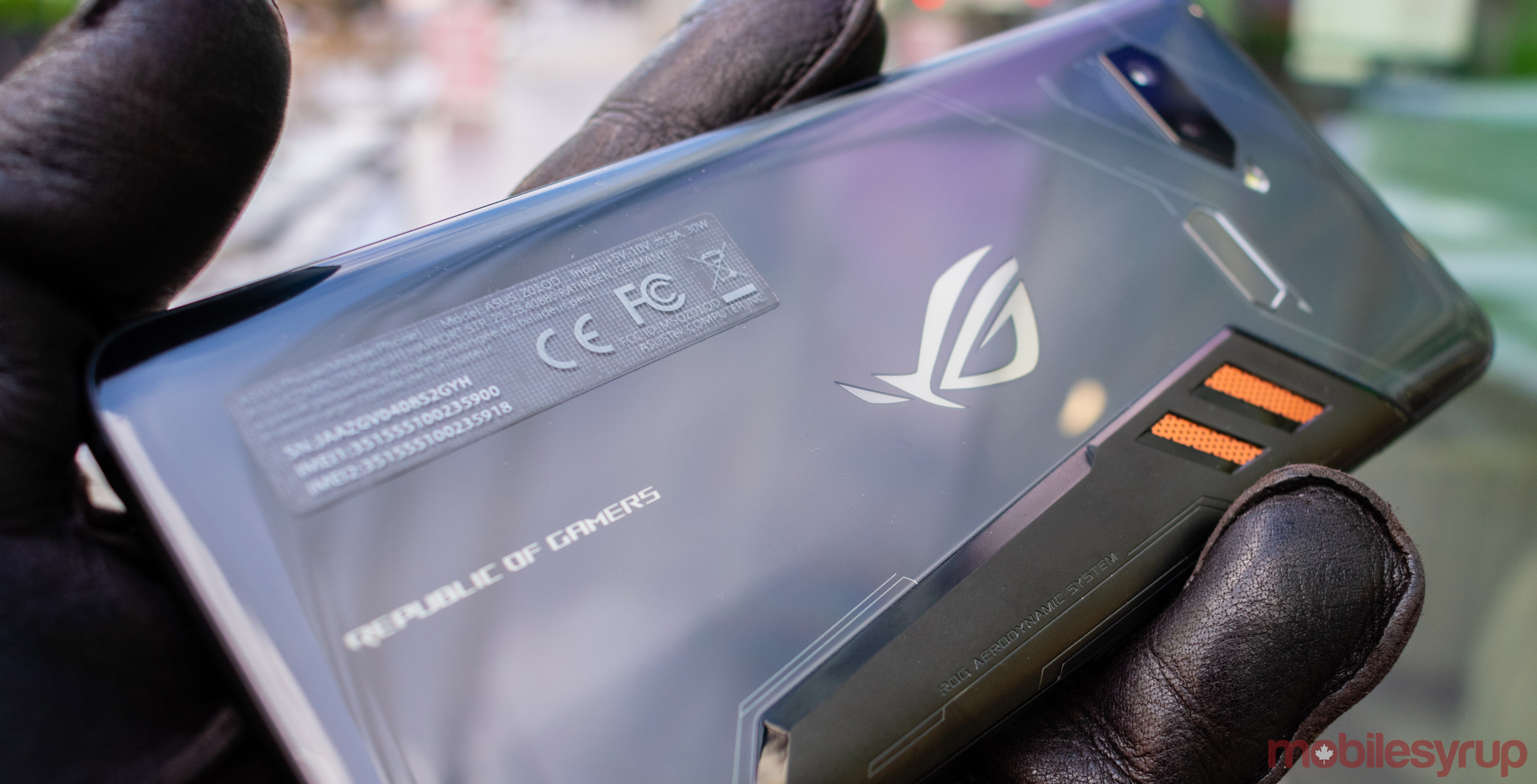 Asus partners with Tencent Games to create ROG Phone II