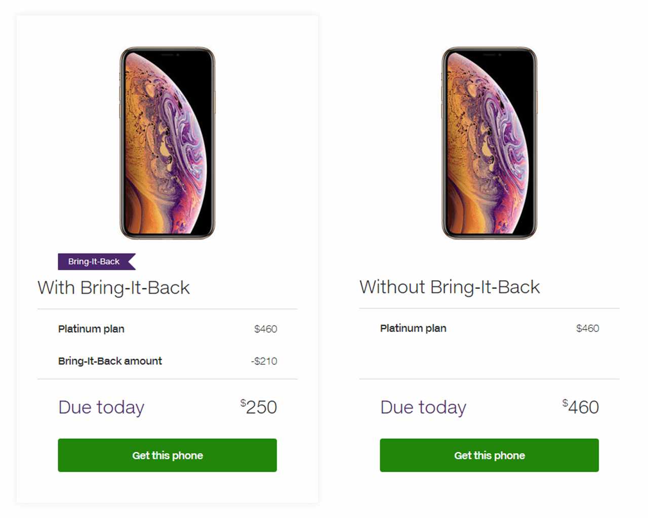 Telus Bring-it-Back example