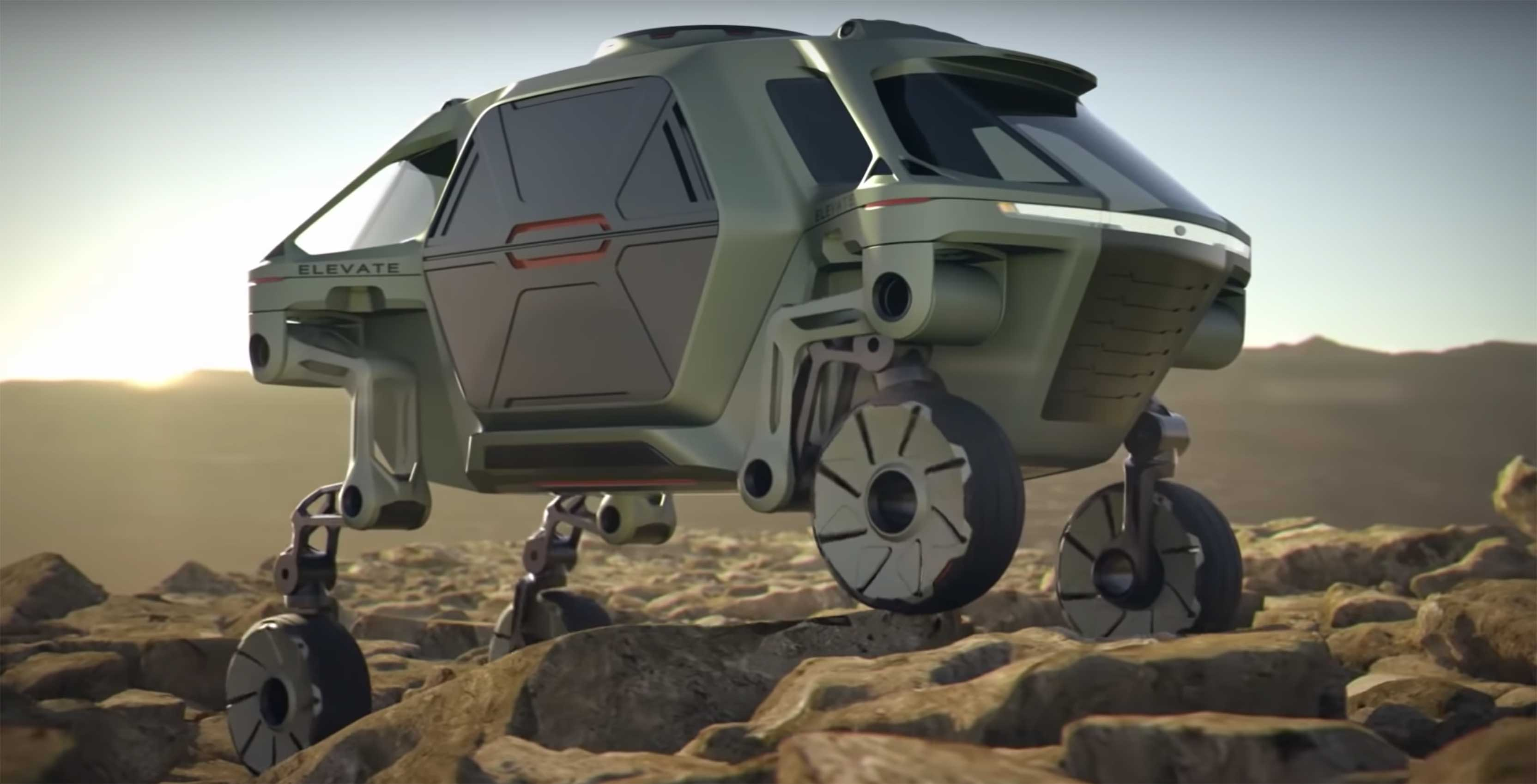 Hyundai's walking vehicle could save lives and even go to Mars