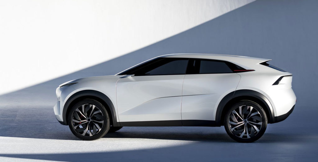 Infiniti shows off stunning new electric vehicle concept car