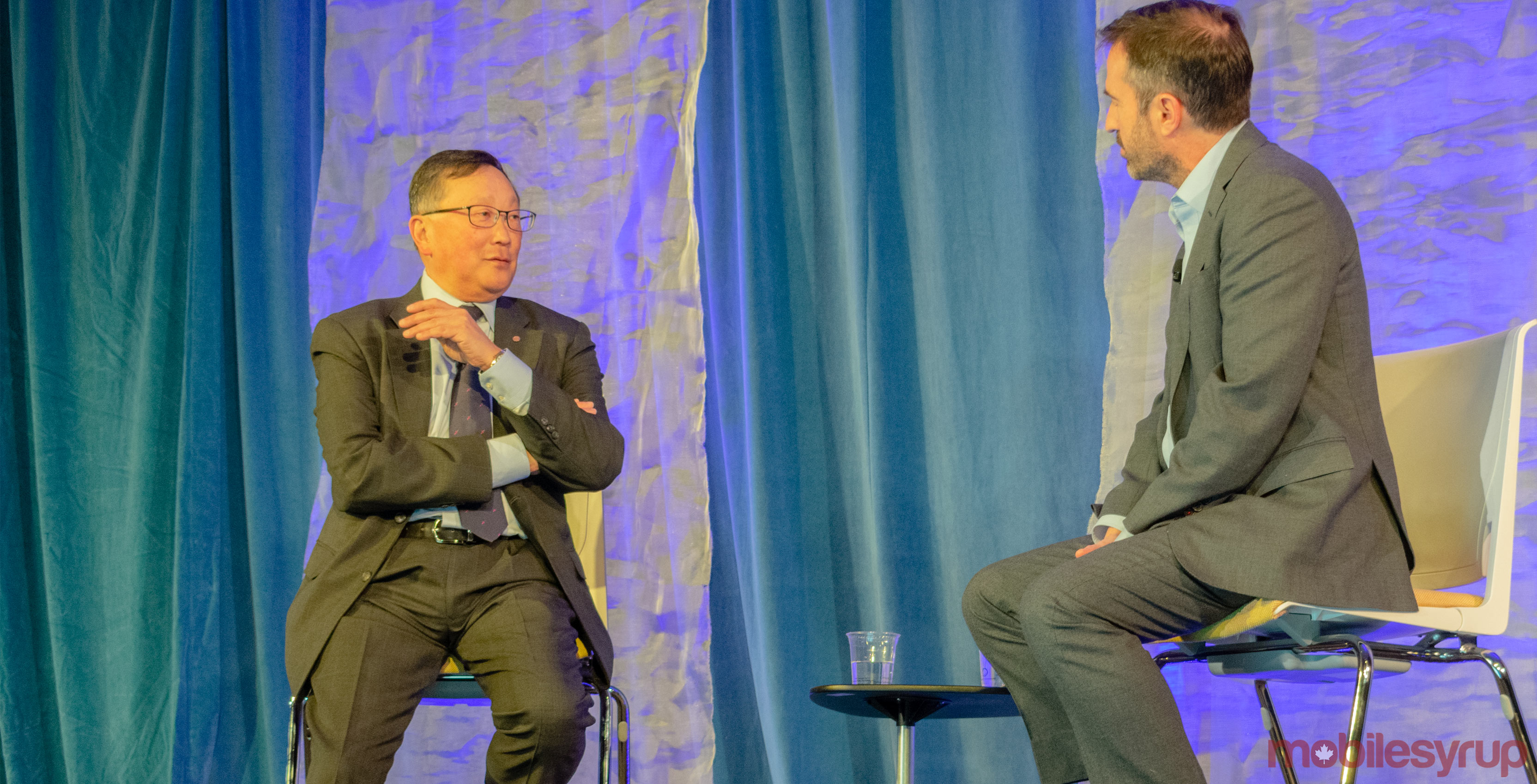 John Chen is proud of BlackBerry's software and security pivot