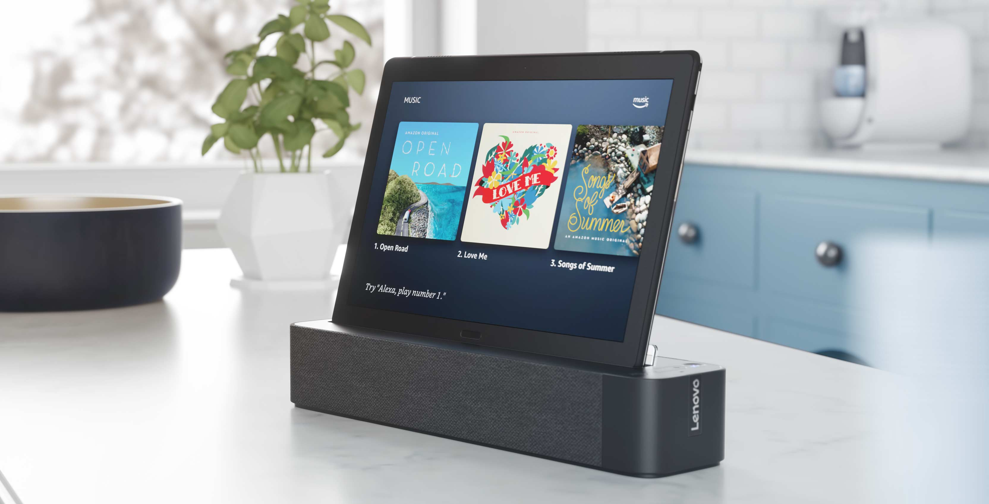 Lenovo tablet/dock combination looks to make the Echo Show