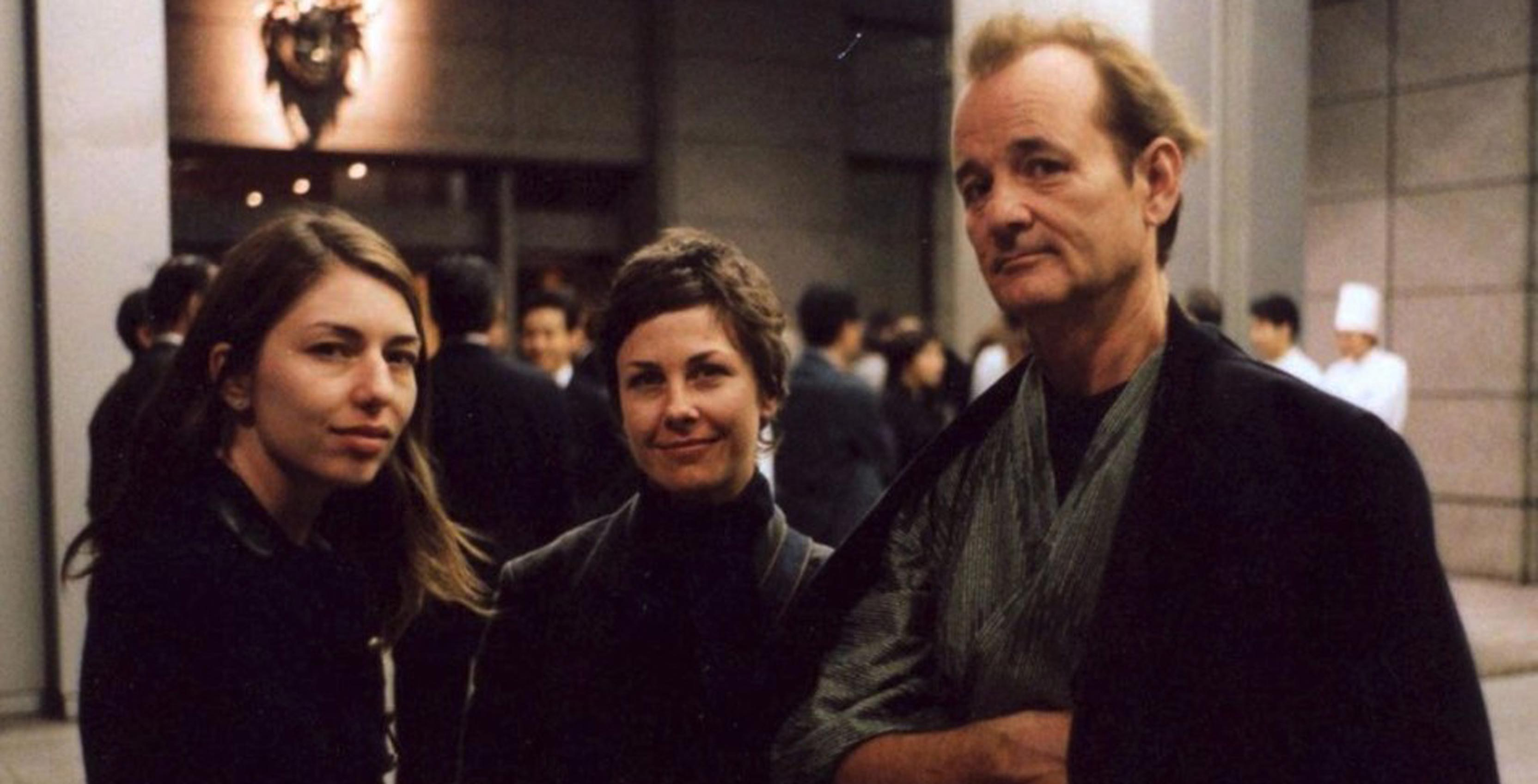 Lost in Translation director Sofia Coppola and actor Bill Murray