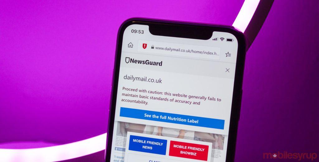 Aplikasi NewsGuard Akan Otomatis Mengingatkan Jika Berita yang Anda Baca Palsu