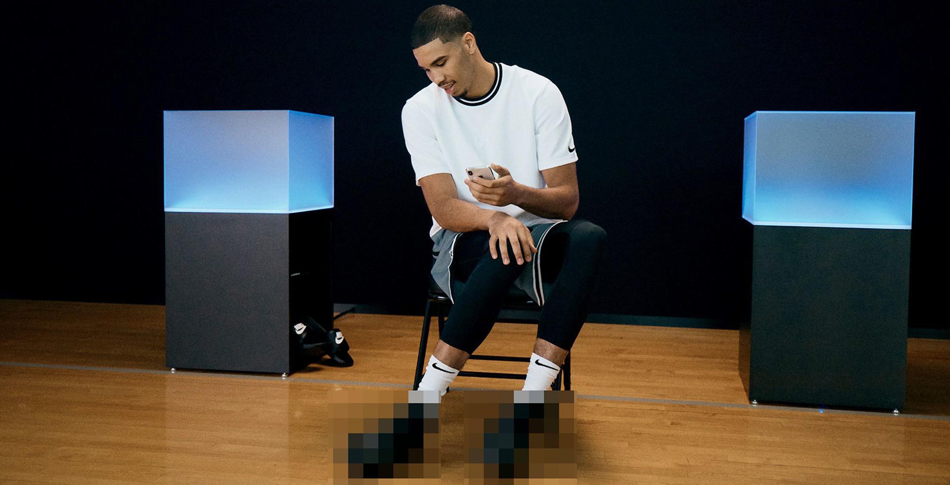 Nike self-sharpening teaser shoes
