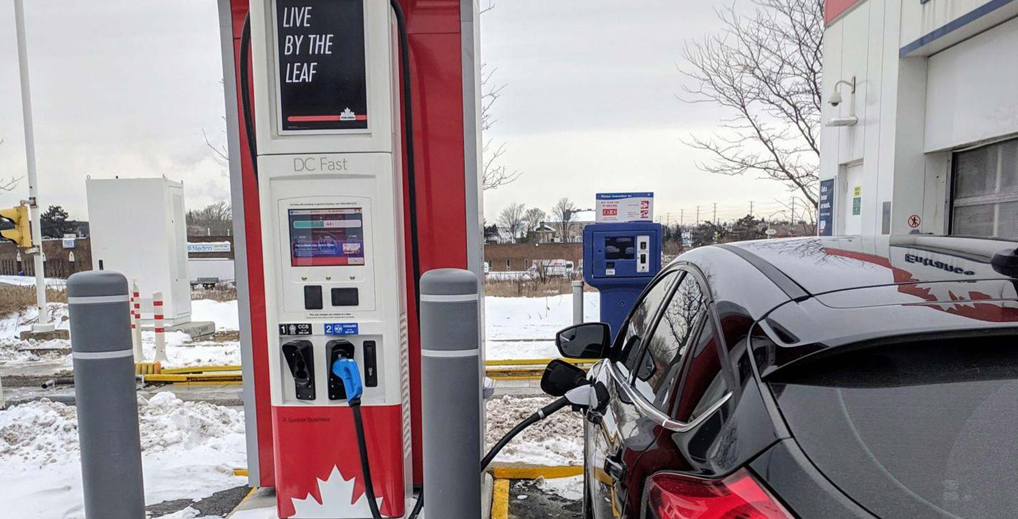 Ev Charging Stations >> Petro Canada Brings Ev Chargers To Milton Ontario Gas Station