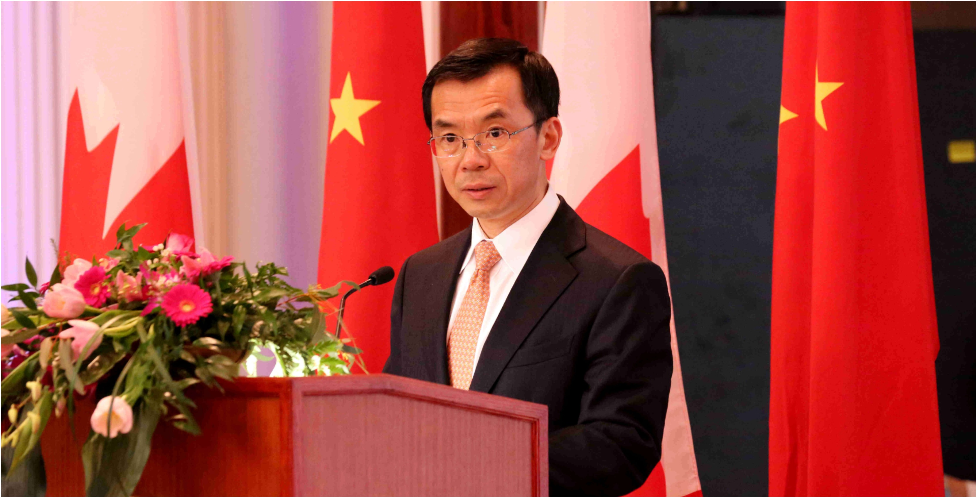 Chinese Envoy Accuses Canada of 'White Supremacy' in Huawei Arrest Case