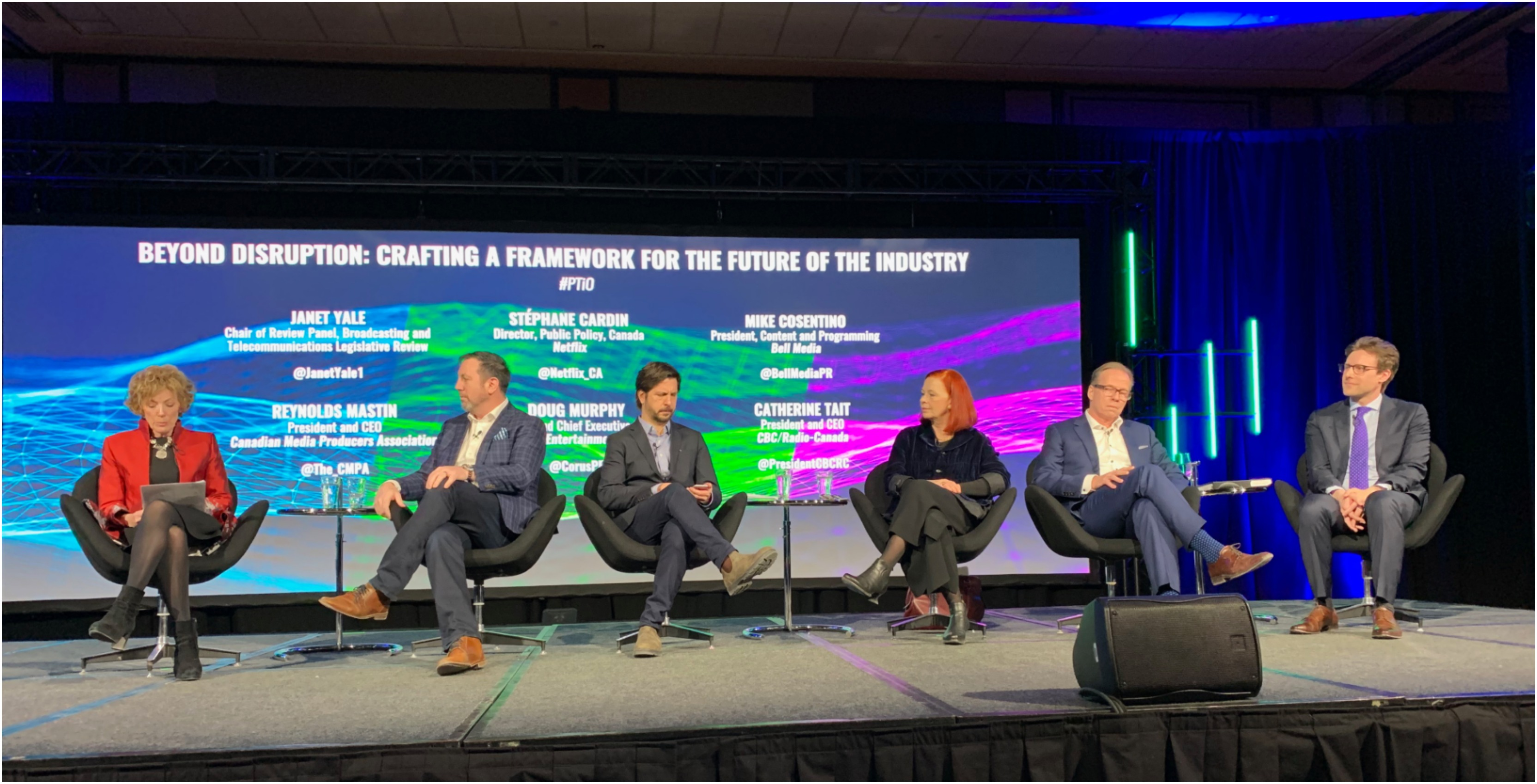 c07fc871ab0 CBC president Catherine Tait pointed a finger at Netflix at a recent  conference panel in Ottawa