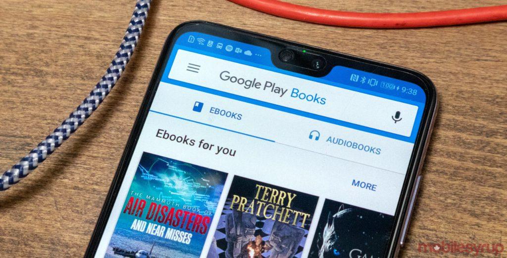 Google Play Books receiving Google's modern Material Design update