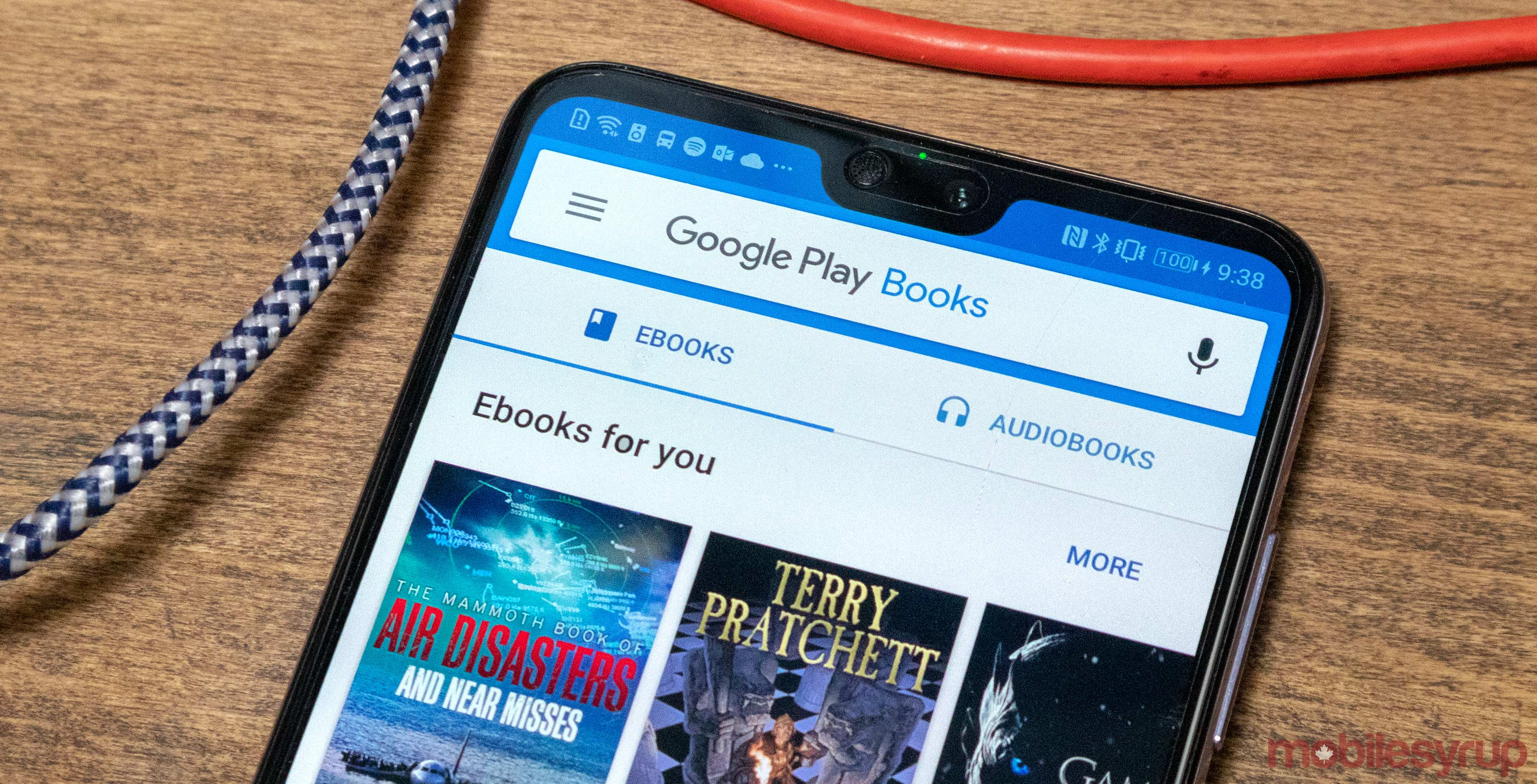 Google Play Books redesign rolling out to more people