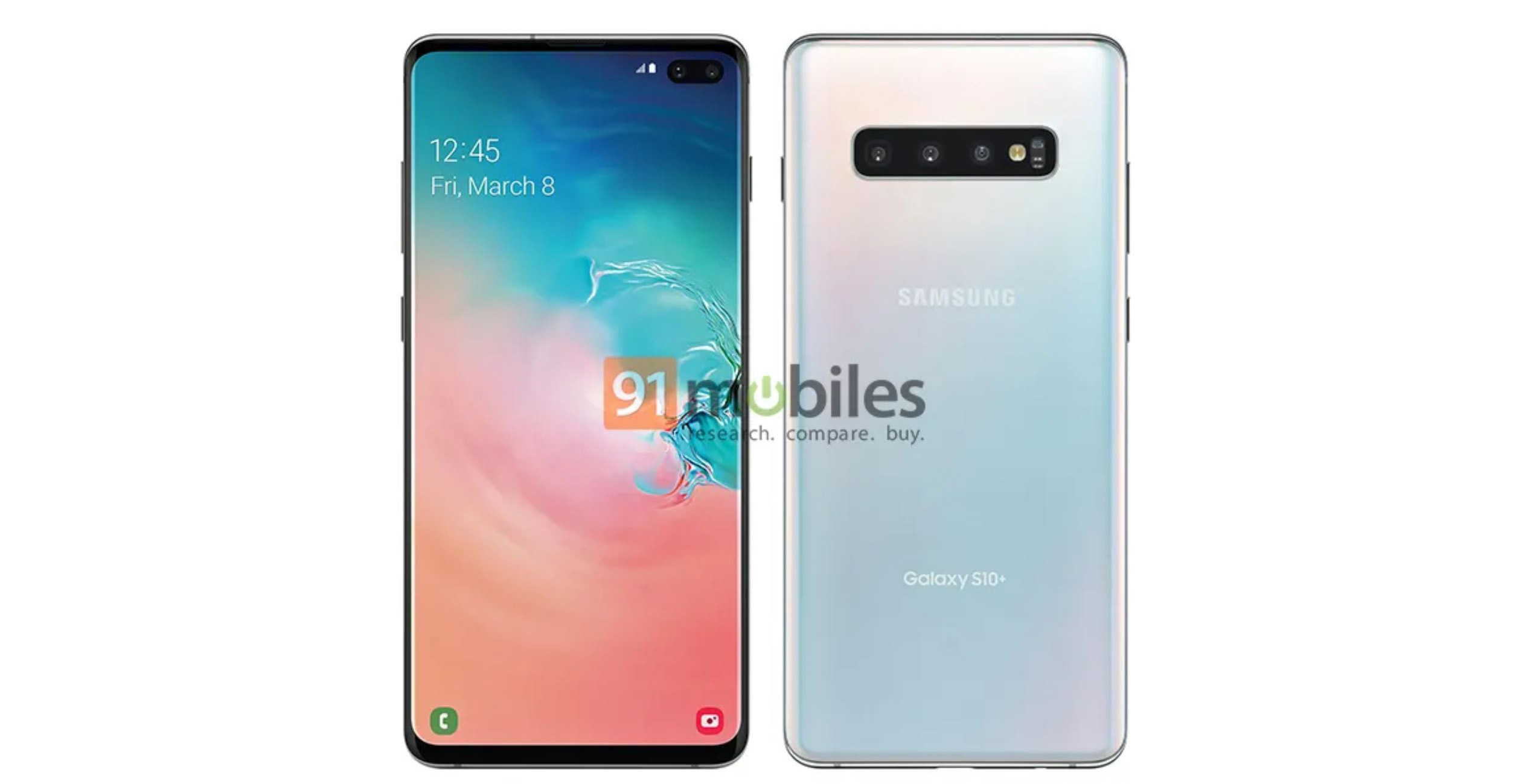 Here are the Galaxy S10+, Galaxy Note 10, Huawei P30 and