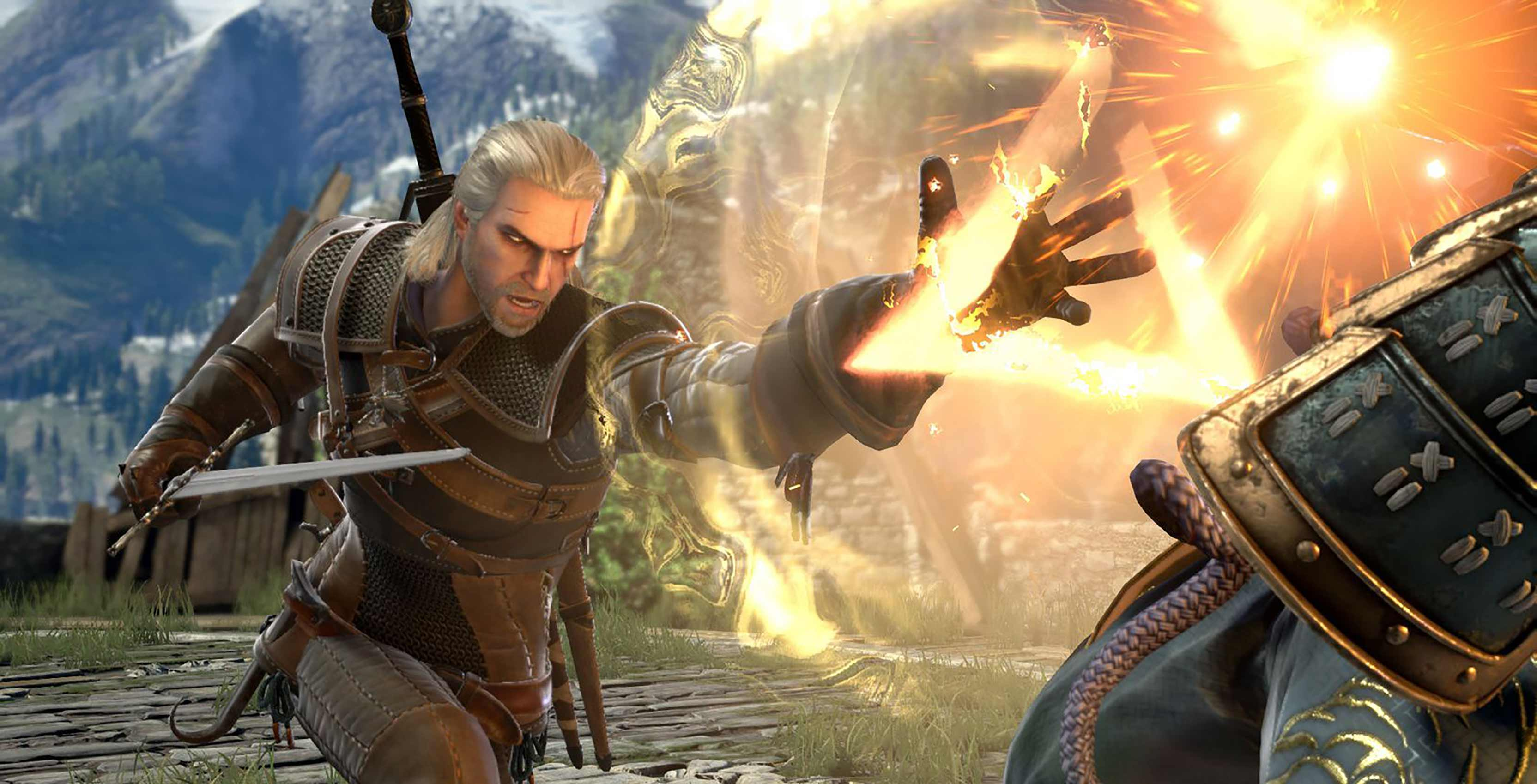 Soul Calibur VI Geralt
