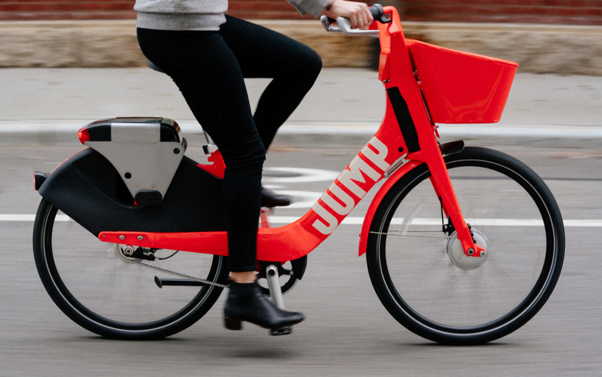 Uber Jump Bicycles
