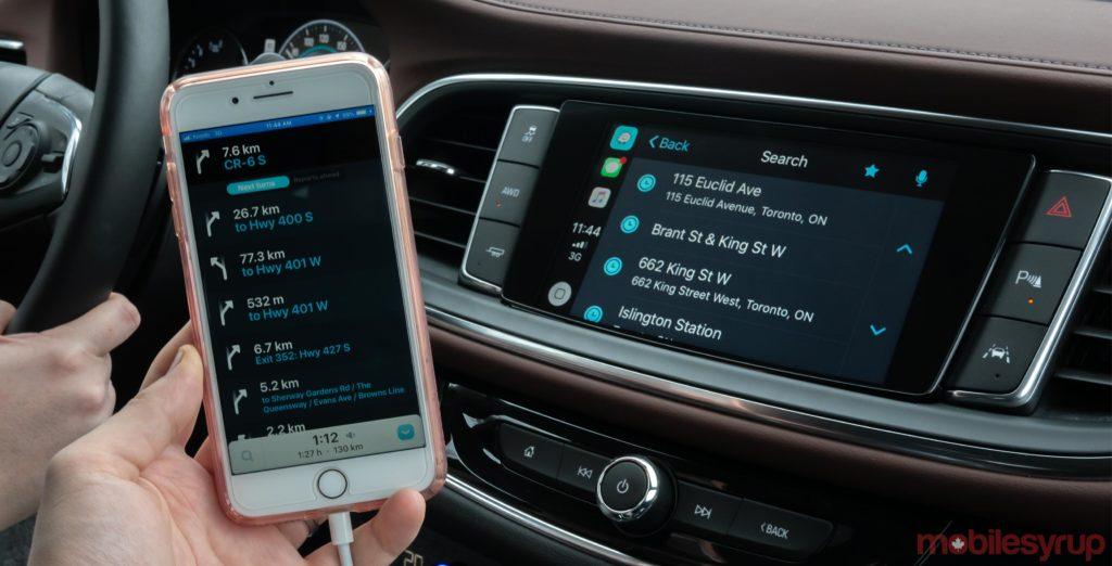 a67812b1d884 Waze and Apple s CarPlay Hands-on  A step forward