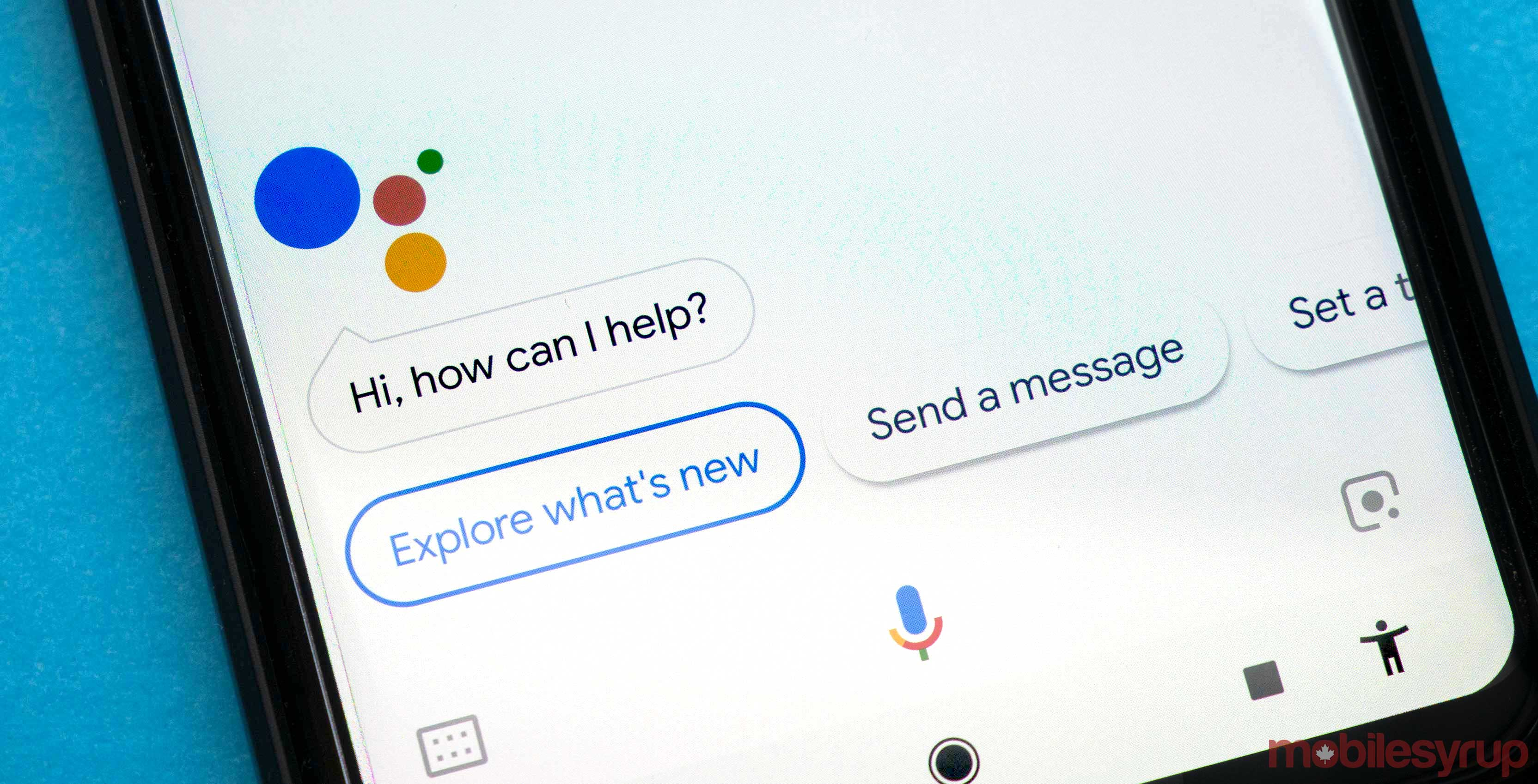 Google Assistant doubles down on mobile at MWC with physical buttons