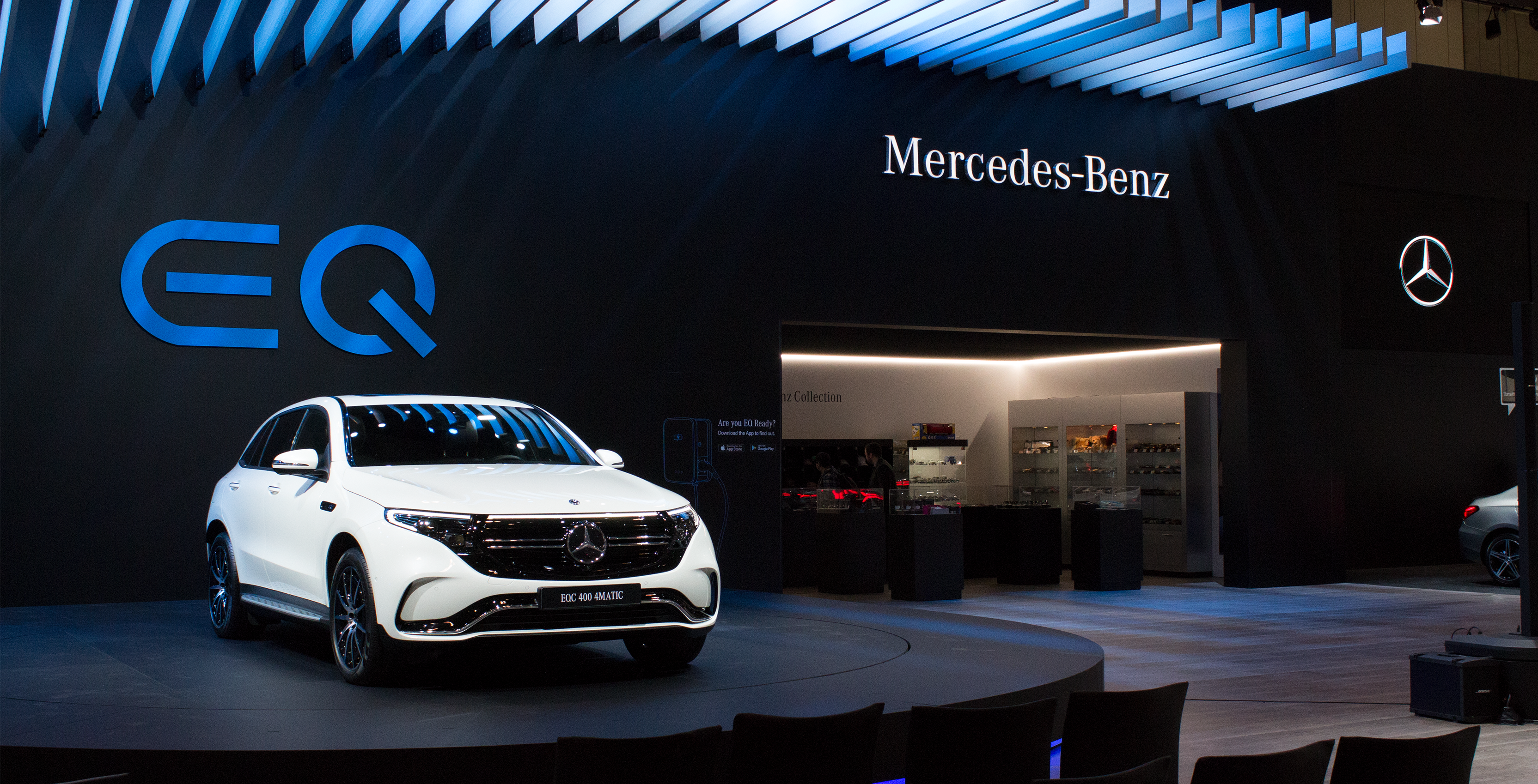 Mercedes-Benz reveals the EQC SUV, its first electric vehicle
