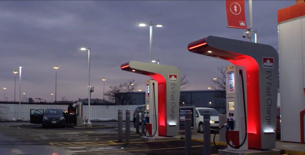 Petro Canada To Build Coast To Coast Electric Vehicle Charging Network