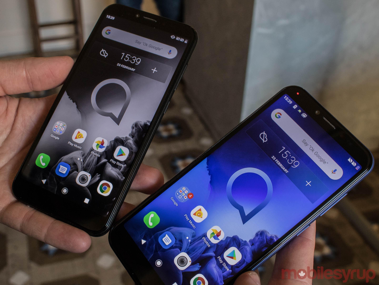 TCL announces three new mid-range Alcatel phones at MWC 2019