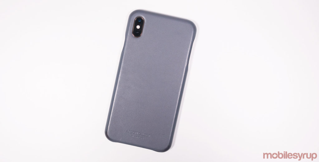 79cb51a7b5 This iPhone XS Max case is manufactured with leather sourced from a 16th  century tannery