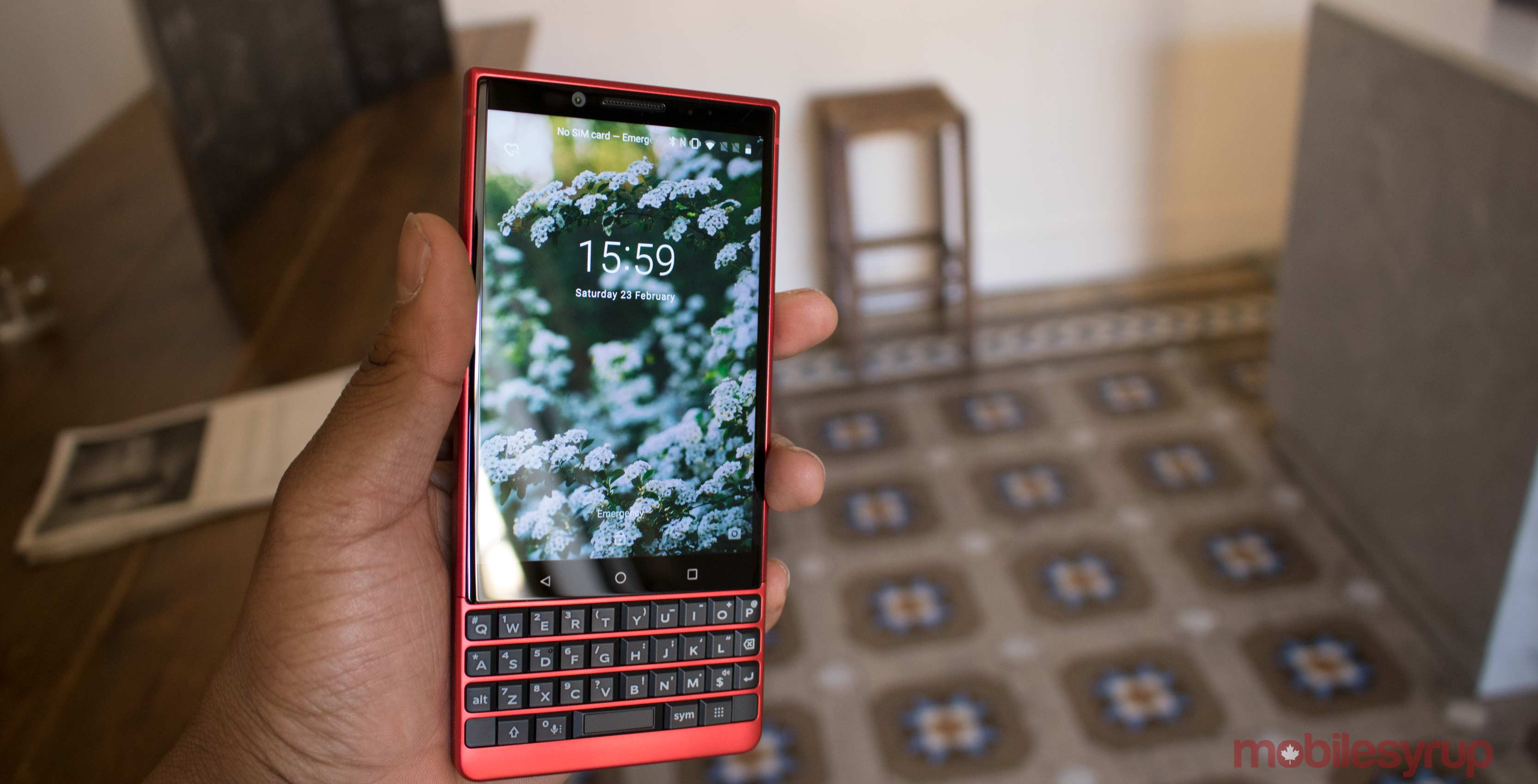 TCL announces colourful BlackBerry KEY2 Red Edition at MWC