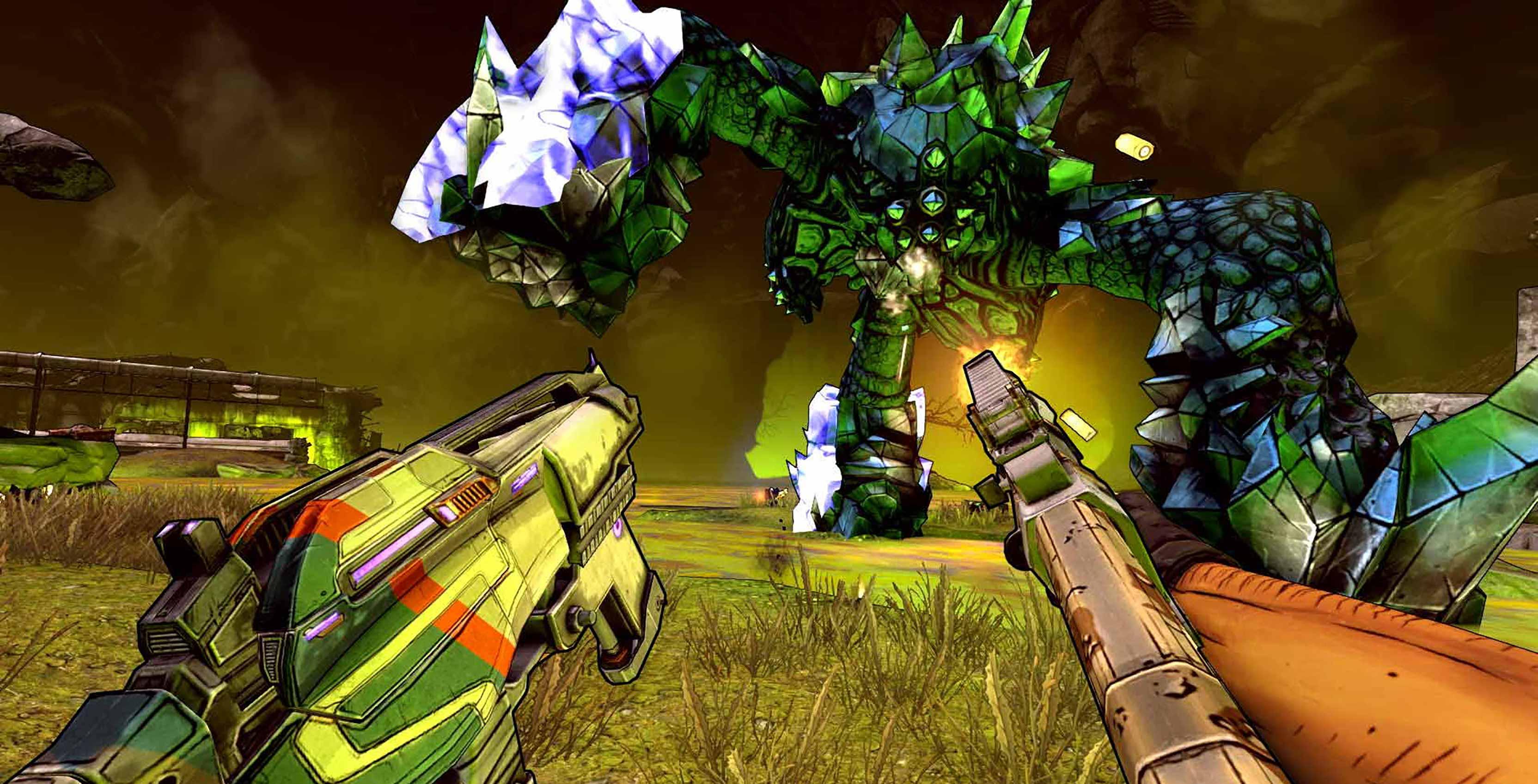 Borderlands 2 VR combat