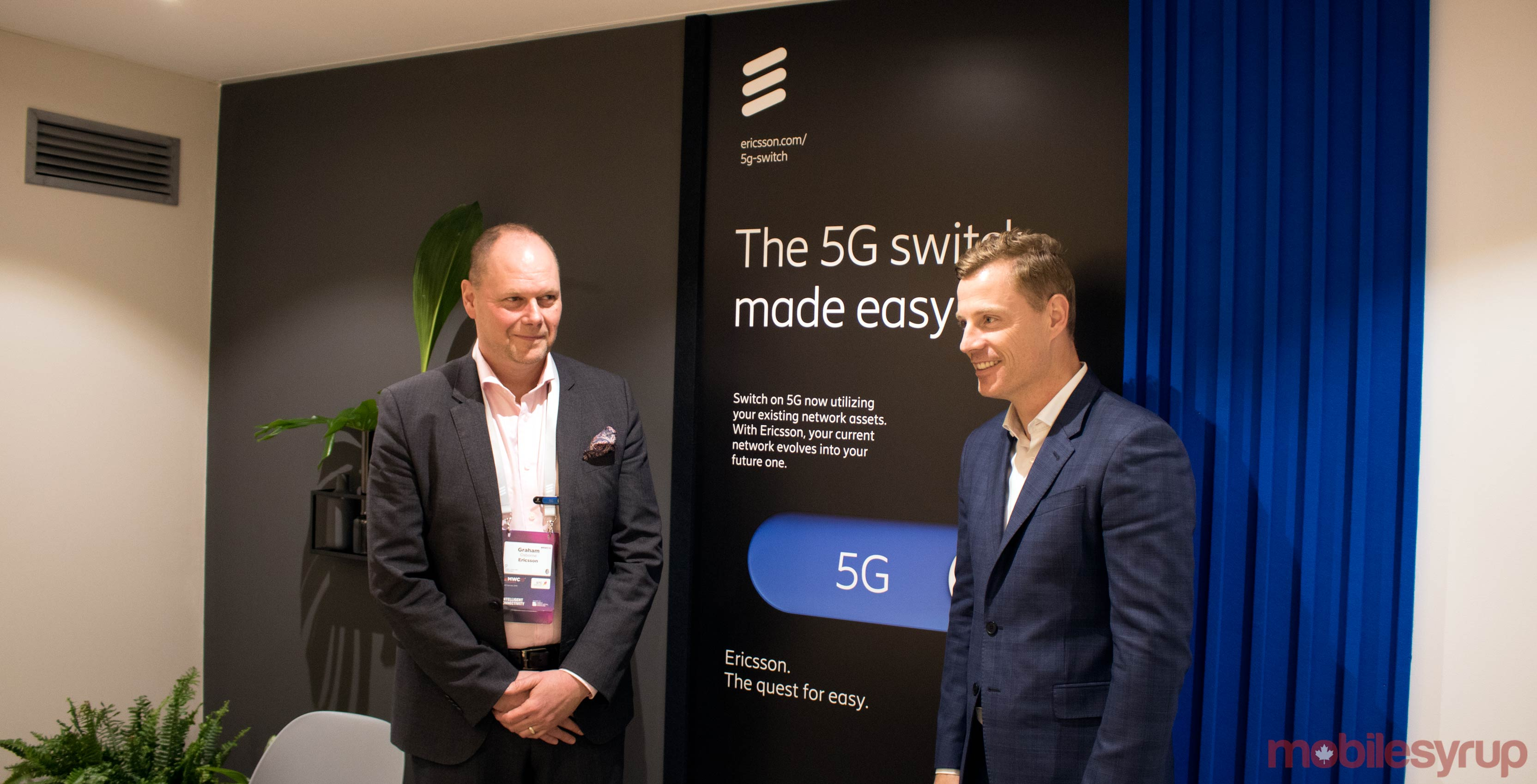 Ericsson's 5G equipment is ready for all Canadian carriers in case