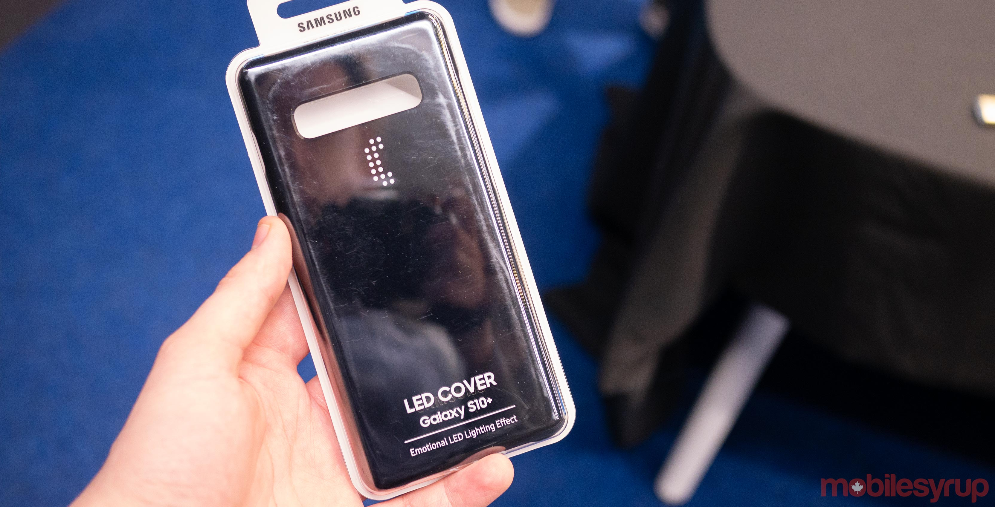 official photos ac39c 7e864 Samsung's new Galaxy S10 case lights up and counts down camera timers