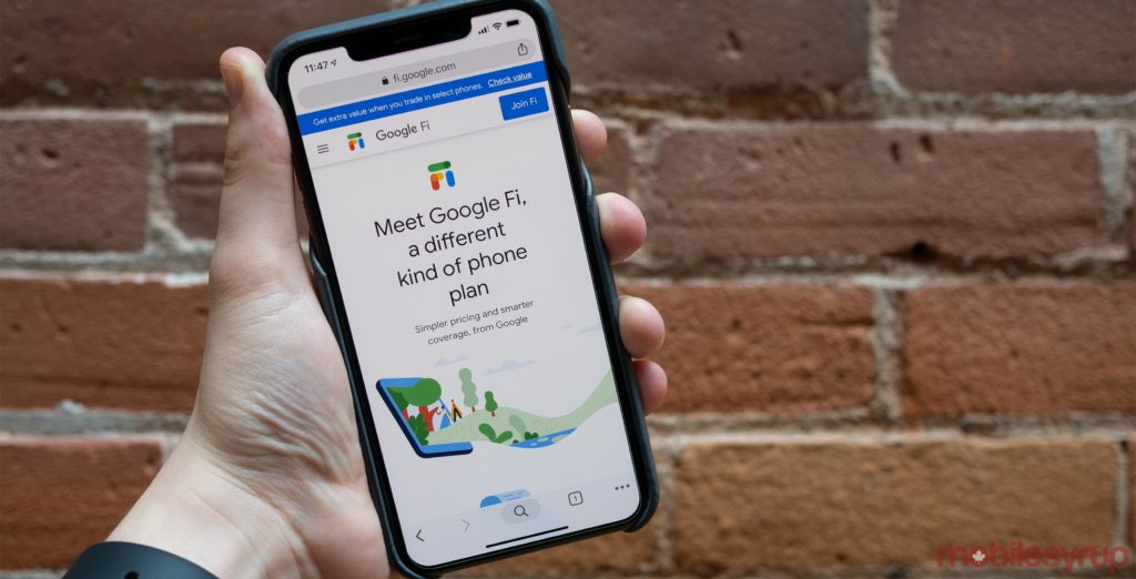 Google files Fi trademark in Canada, but don't get too excited