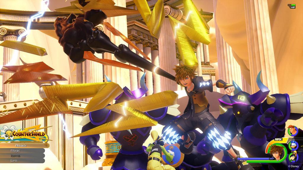 Kingdom Hearts 3 Countershield