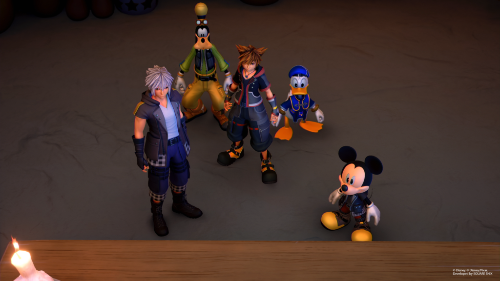 Kingdom Hearts 3 heroes