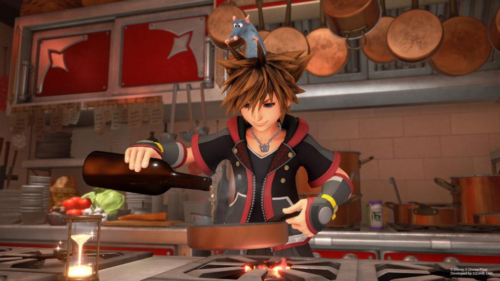 Kingdom Hearts 3 Ratatouille