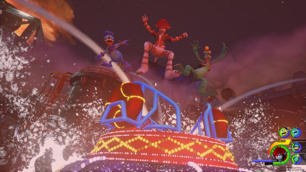 Kingdom Hearts 3 Splash Ride