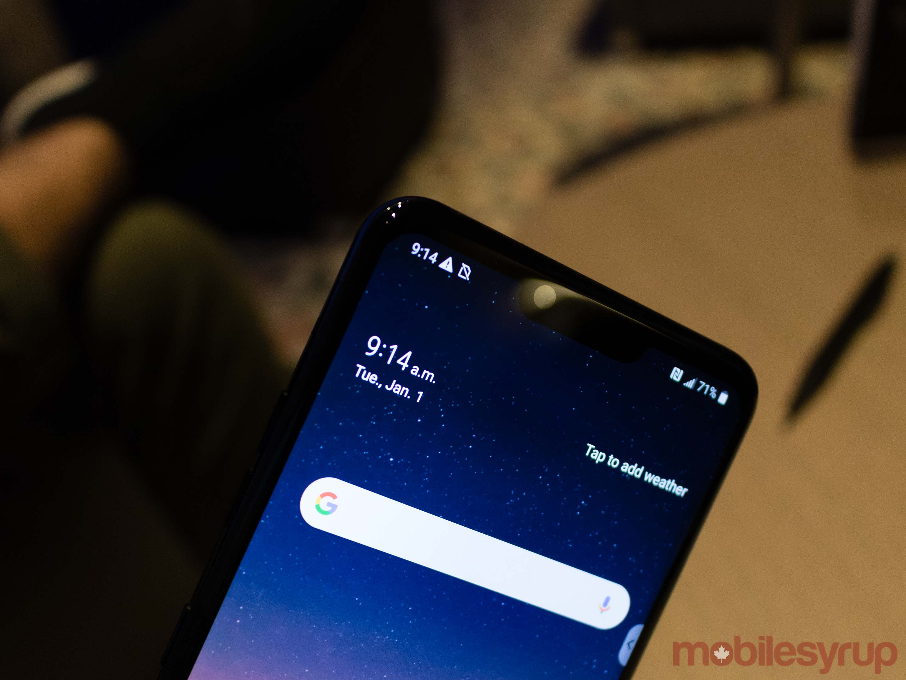 LG G8 ThinQ Hands-on: touching your phone is overrated