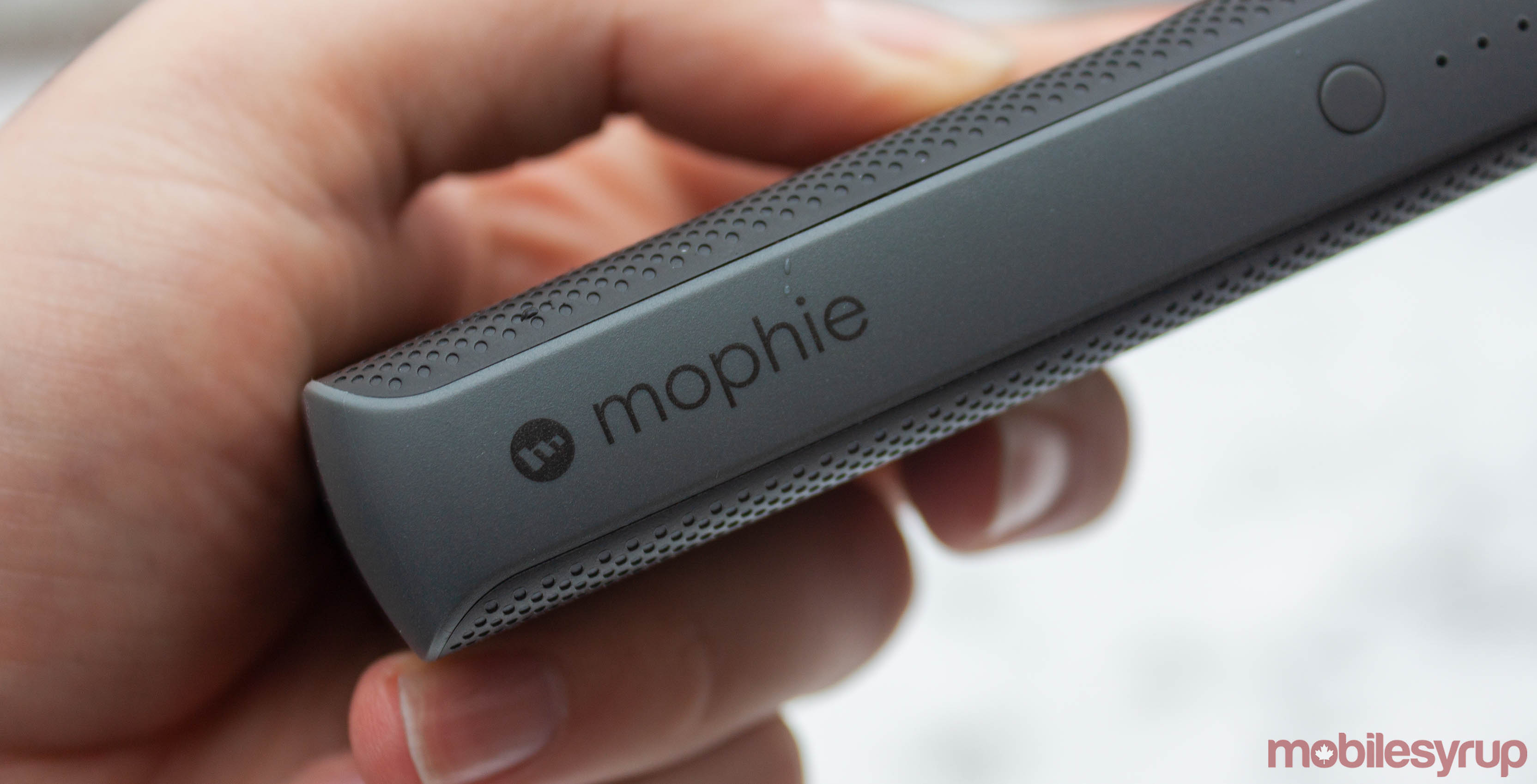 Mophie logo on Powerstation PD XL
