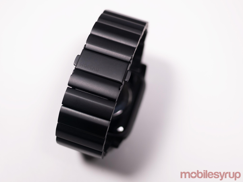Titanium strap rear
