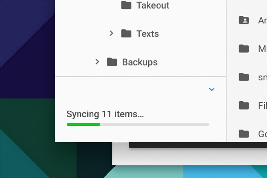 Offline file syncing