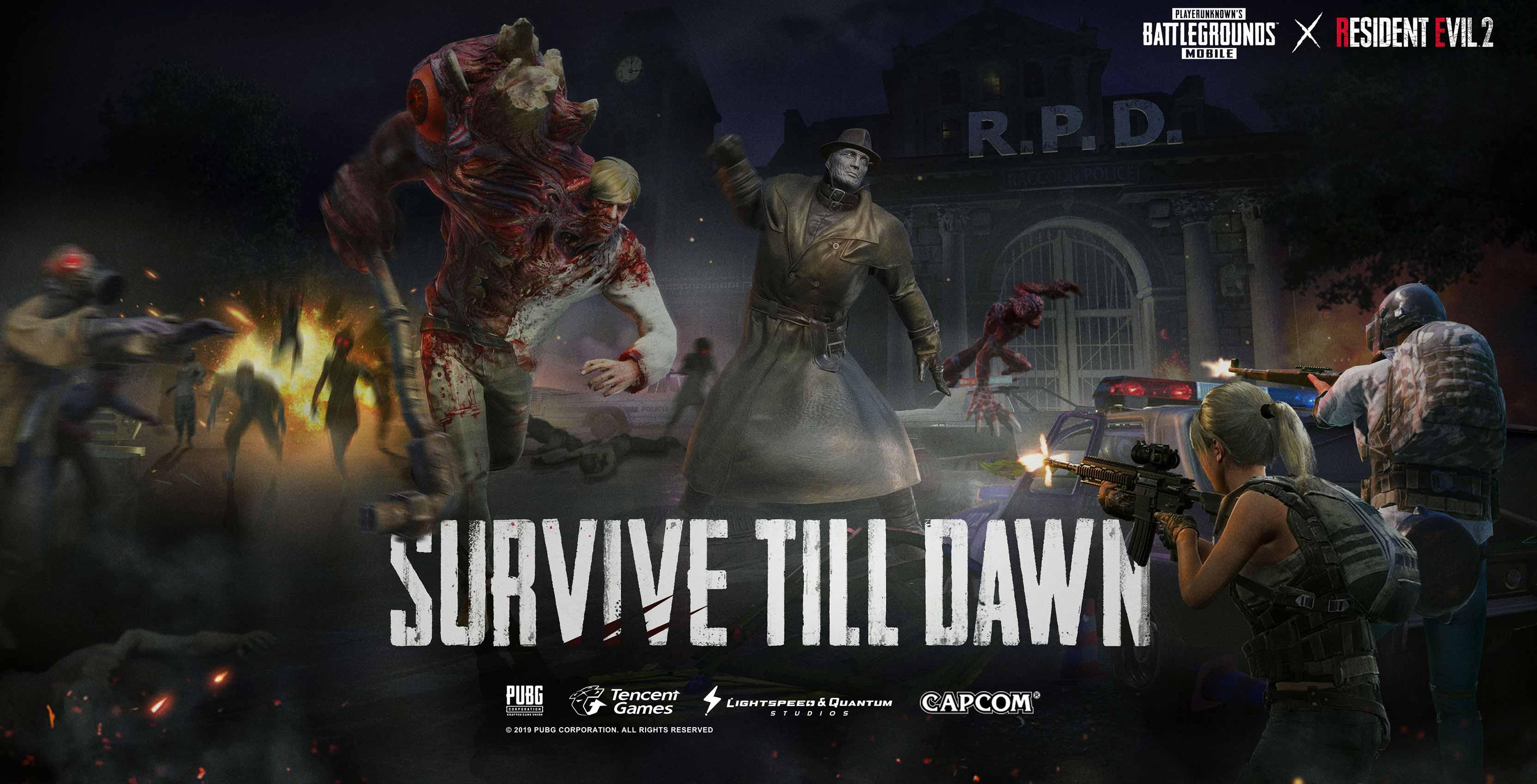 PUBG Mobile Resident Evil 2 crossover