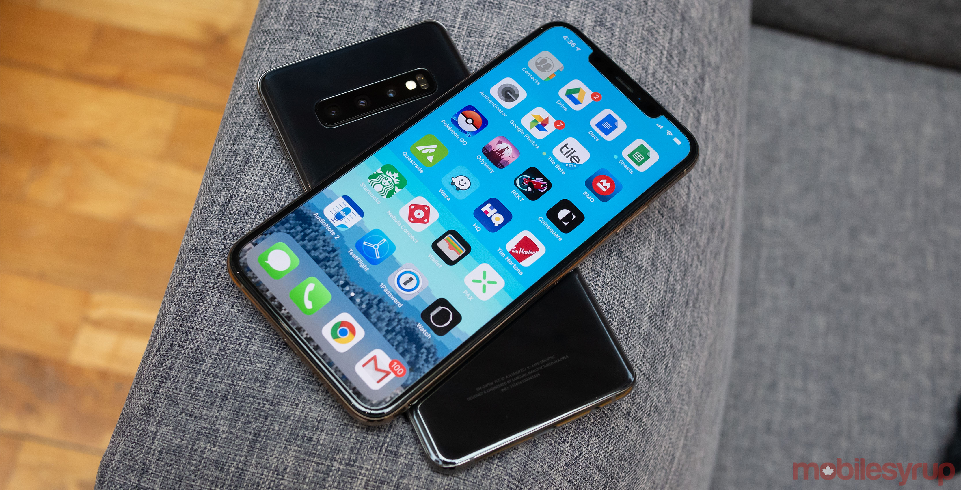 You haven't lived until you've used Samsung's S10+ to charge Apple's