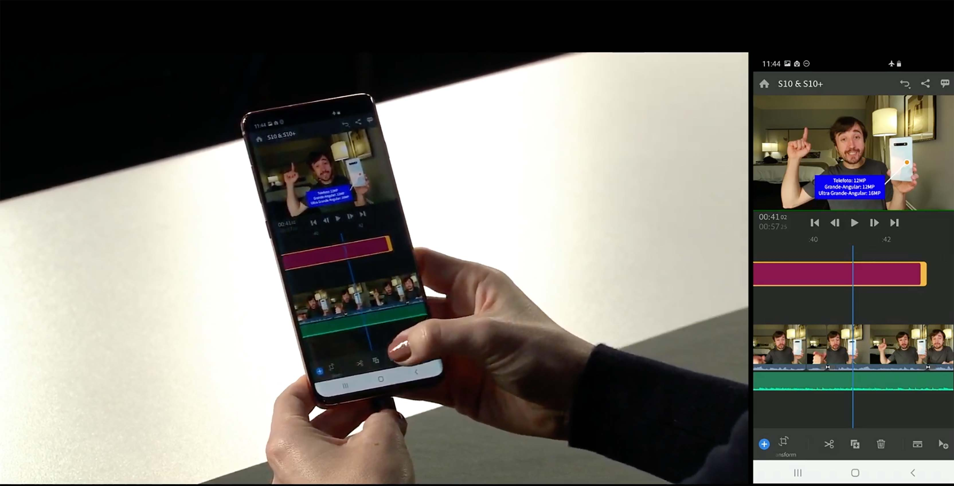 Samsung S10 optimized for Adobe Premiere Rush CC, releasing this year